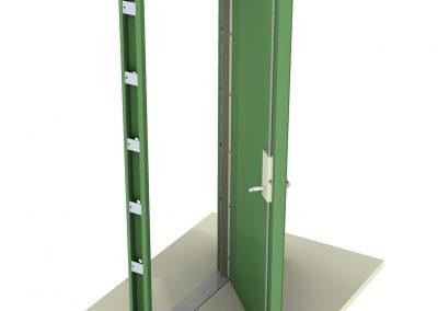 Steel Doorset Assembly